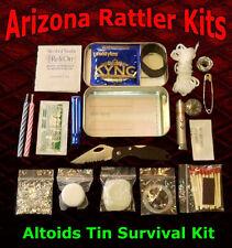 Altoids Tin Survival Kits Emergency pocket survival camping hiking hunting packs