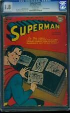 Superman 49 CGC 1.8 OW Golden DC Comic Early Superman Appearance!! L@@K