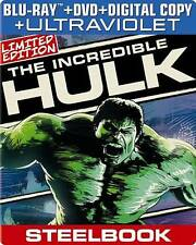 The Incredible Hulk (Blu-ray/DVD, 2013, 2-Disc Set, Includes Digital Copy...