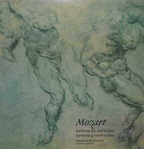 MOZART - Sinfonie Es-dur / g-moll - LP 1976 ETERNA 826852
