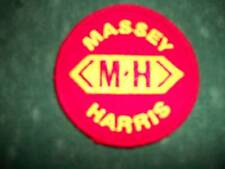 MASSEY HARRIS , IRON ON EMBROIDERED CLOTH PATCH, NEW
