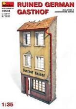 Model Kits 1:35 Miniart Ruined German Gasthof Building 35538