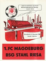 OL 87/88 BSG Stahl Riesa - 1. FC Magdeburg