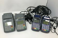 Lot of 4 Credit Card Terminals (2) First Data Fd-100 , Omni 3750 , Omni 5750