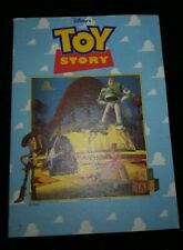 Carte Toy Story et stickers collés Pixar Disneyland Paris 1996
