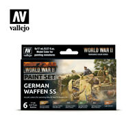 AV Vallejo Model Color Set - WWII German Waffen SS (6)  VAL70207
