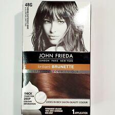John Frieda Precision Foam Hair Colour 4BG Dark Chocolate Brown Salon Quality