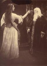 Vivien and Merlin, detail JULIA MARGARET CAMERON Vintage Photography Poster