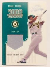 2003 Playoff Absolute Memorabilia Miguel Tejada Game Used Worn Jersey /75 Rare