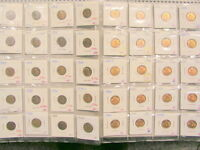 USA Münze 1 Cent 5 Nickel 10 Dime 25 Quarter 50 Half Dollar Auswahl DS 1900-1959