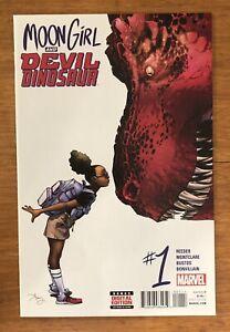 Moon Girl And Devil Dinosaur #1/1st Print/Key 1st Lunella Lafayette/Marvel Comic
