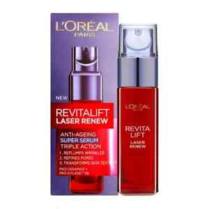 L'Oreal Paris Revitalift Laser Renew Refining Anti-Ageing Serum Smooths *New