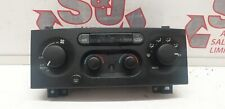 Jeep Grand Cherokee Mk2 1998-2005 Heater Climate Blower Control Panel Switch