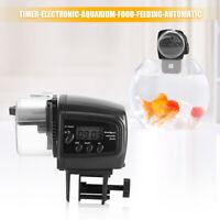 Digital Electronic Fish Feeder Dispenser Timer Automatic Aquarium Food Feeding