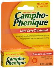 CAMPHO PHENIQUE COLD SORE TREATMENT GEL 0.23OZ
