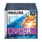Philips DVD-R 120MIN 16X 4.7GB - 10 Pack Jewel Case