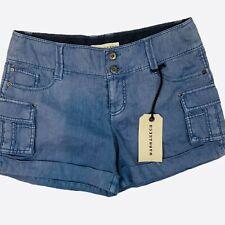 NWT Marrakesh Clancy Cargo Linen Shorts $56