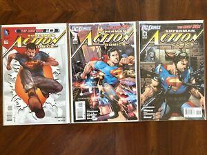 Action Comics (2011) 0, 1-18 NEW 52 Complete Morrison Run - #9 1st Calvin Ellis