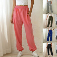 LADIES WOMENS JOGGING JOGGERS TRACKSUIT BOTTOMS FLEECE JOG PANTS HOT SALE !