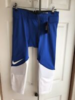 NWT $70 NIKE PRO Mens Football Vapor Speed COMPRESSION Pants 3/4 Size 2XL