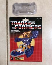 TRANSFORMERS G1 AUTOBOT SEASPRAY CARDBOARD BACK & BUBBLE NEW!