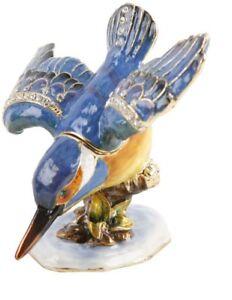 Juliana  Trinket Box   Treasured Trinkets  Kingfisher Diving