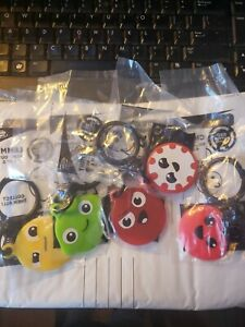 Sonic Drive-in Wacky Pack Red Button Hang-Outs Set Of 5 New Sealed Complete