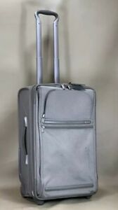 """Used TUMI Frequent Traveler Expandable 22"""" Upright Carry-On 22022S4 Silver$595"""