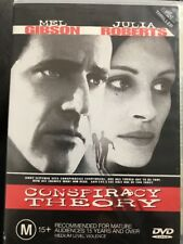Conspiracy Theory (DVD, 1998) Mel Gibson, Julia Roberts - Free Post!