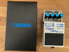 Boss DD-7 Digital Delay guitar effects pedal MINT Condition