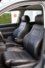 Audi A4 B5 Avant KUNSTLEDER schwarze Sitzbezüge OEM-Design normal Sitze
