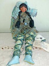 Gretchen Lima Signed Doll Ooak Fabric Fiber Art Guardian Spirit Plush 2015