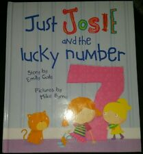Just Josie and the Lucky Number By Emily Gale Large Hardcover