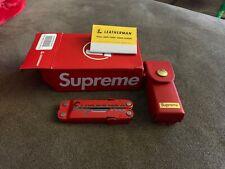 Supreme®/Leatherman® Rebar | 17 piece stainless steel multi-tool | SS20