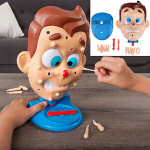 Squeeze Acne Toy Popping Pimple Pete Parent-Child Games Water Spray Gags  lu