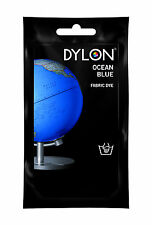 Ocean Blue DYLON Hand Wash Fabric Clothes Dye 50g