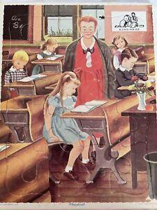Playskool Vintage Tray Frame Puzzle Golden Press    Kindness Teacher Classroom