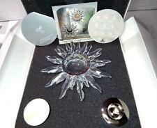 Nib Swarovski Crystal Solaris Candle Holder Large New 236719 7600 147 Usa Seller