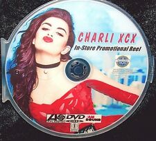 CHARLIE XCX In-Store Promotional 22 Music Videos Reel DVD Vroom, Vroom FREE SHIP