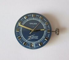 Rare Vintage  1970S  Gruen Precision Electronic Wrist Watch Movement