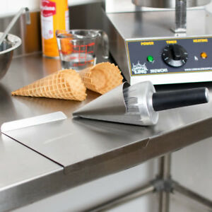 """Carnival King 10"""" Waffle Cone Forming Tool FREE SHIPPING US ONLY (48)"""