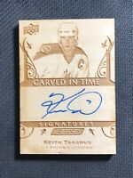 2019-20 UPPER DECK ENGRAINED KEITH TKACHUK CARVED IN TIME SIGNATURES AUTO #CTS26