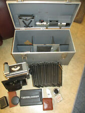 Vintage Graflex Super Graphic with Case and Accessories