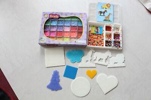 Bügelperlen Stiftplatten 10 Platten 15.000 Perlen in 30 Farben & bunte Mischung