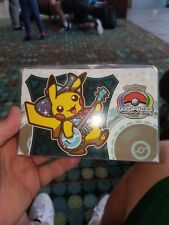 Pokemon 2018 World Championships Deck Box magnetic closure players pack sealed!