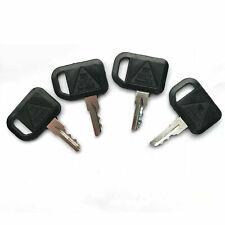 4Pcs Ignition Key Am131841 For John Deere 180 345 445 X475 X744 Z465
