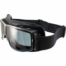 Birdz Condor Black Sport Padded Motorcycle Riding Goggle with Smoke Lens
