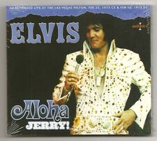 "ELVIS PRESLEY CD ""ALOHA JERRY!"" 2013 AUDIONICS FEBRUARY 23 1973 LIVE LAS VEGAS"