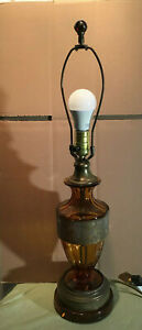 Moser Glass Lamp with Warrior Frieze