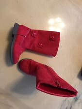 Gymboree Boots Size 11 Red Girls